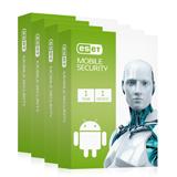 ارسال پستی 50 عدد بسته - لایسنس آنتی ویروس ایست نود 32 - مخصوص گوشی موبایل - 1ساله - 1 کاربره - Eset Nod32 Mobile Security
