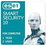 لایسنس آنتی ویروس ایست نود 32 - مخصوص کامپیوتر - 1ساله - 2 کاربره - Eset Nod32 Smart Security 10