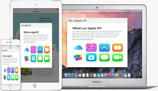 خطاهای متداول اپل آیدی
